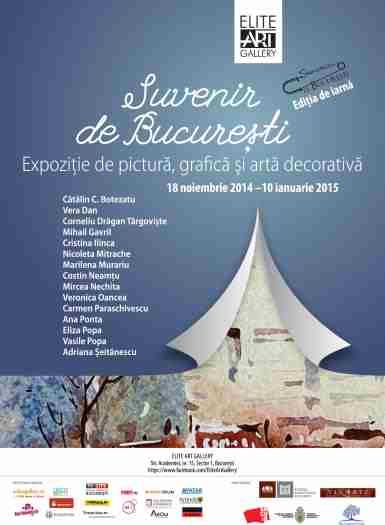 Expozitie de pictura si arta decorativa in Bucuresti!